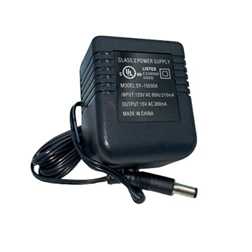 15V A/C Adapter for LAVA HD-2605/HD-2805