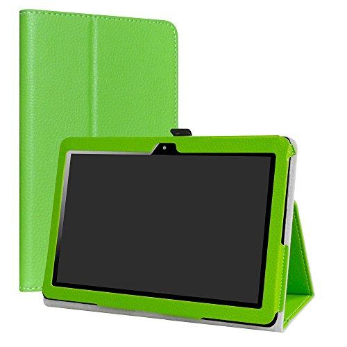"""MediaPad T3 10 Custodia,LiuShan slim Sottile Pieghevole con supporto in Piedi caso per 10.1"""" Huawei MediaPad T3 10 Android Tablet,Verde"""