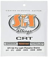 SIT STRINGS エスアイティストリングス アコギ用コーティング弦 CRT Coated Strings Pro Light CP1152【国内正規品】