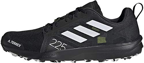 adidas Terrex Speed Flow, Zapatillas de Trail Running Hombre, NEGBÁS/Balcri/Amasol, 40 2/3 EU
