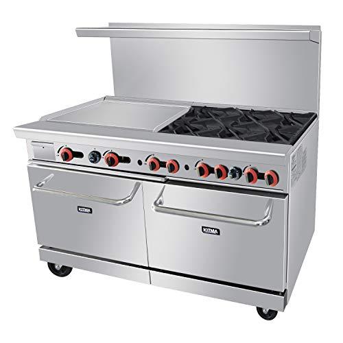 6 burner commercial gas stove - 9