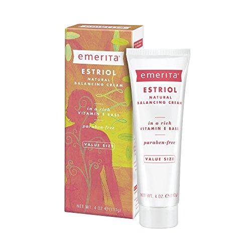 Emerita Estriol Balancing Cream | from The Makers of Pro-Gest | Estriol Cream for Optimal Balance | 4 oz