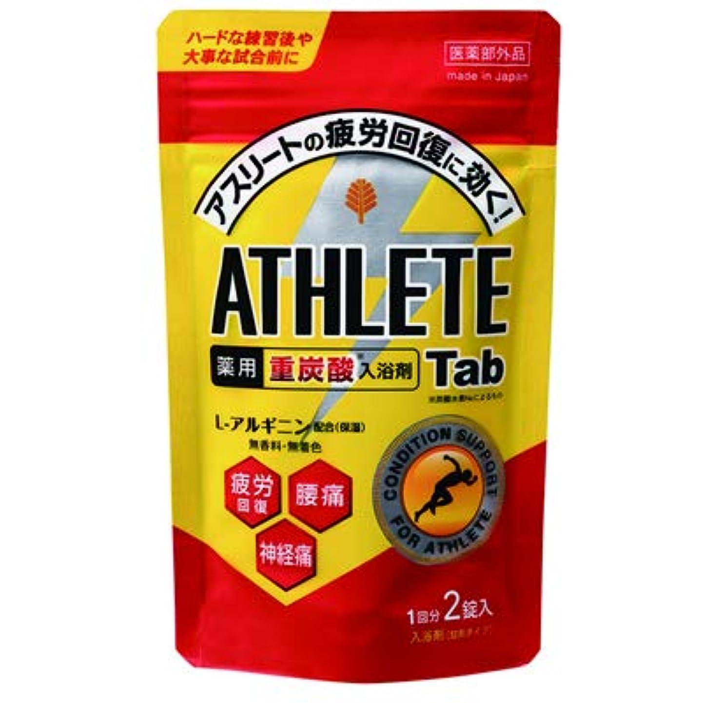確保する電卓咲くアスリート向け薬用スポーツ入浴剤(重炭酸イオン薬用入浴剤)2錠入(1回分) /日本製