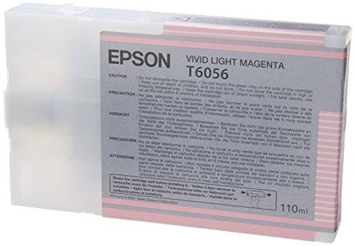Epson T605C00 UltraChrome K3 110ml Light Magenta Cartridge (T605B00)