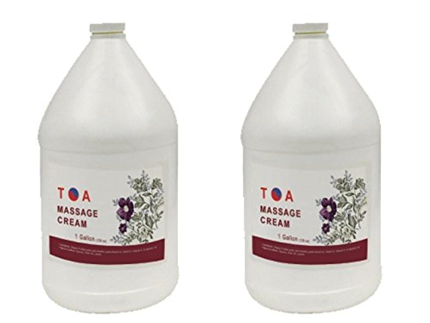 二次動揺させる揺れるTOA Hydrating Body Spaマッサージの無香クリームケース2ガロン