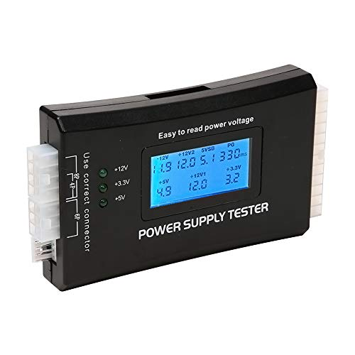 axGear Power Supply Tester PC Computer LCD 20/24 Pin 4