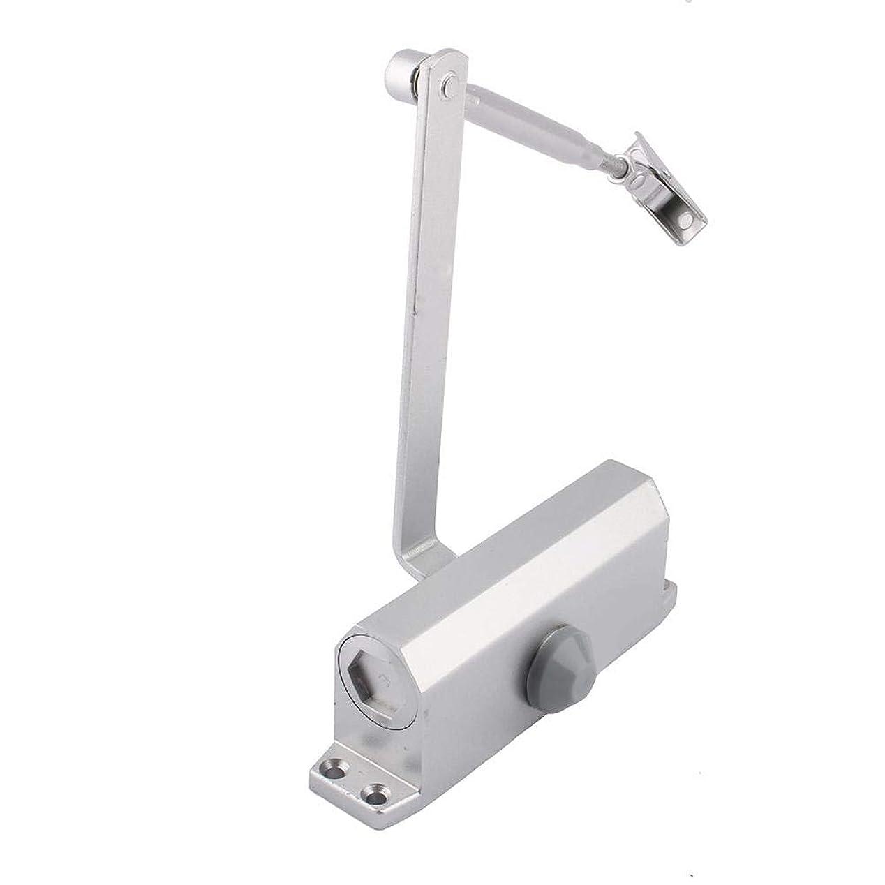 差不快写真を描くSimlug 商業用ドアクローザー、45-65KGアルミニウム商業用ドアクローザー2つの独立したバルブ制御ツール(#1)