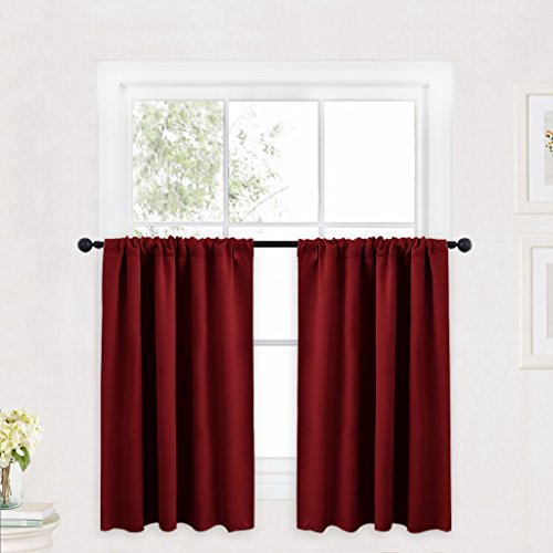 kitchen curtains insulated - 7