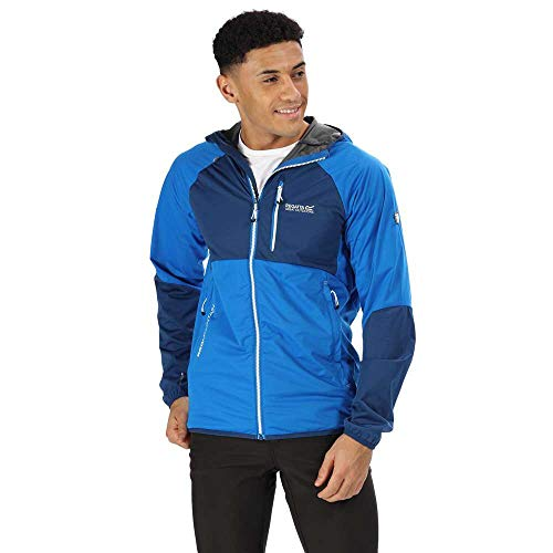 Regatta Mens Tarvos II Lightweight Softshell Zip Up Jacket