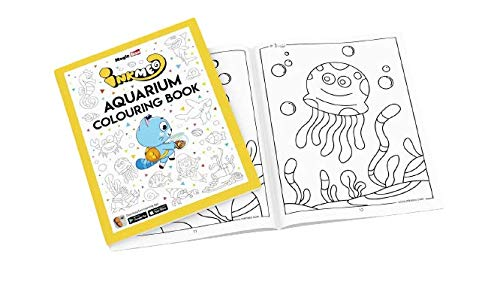 Inkmeo's Aquarium Colouring Book mit Augmented Reality Enabled-Seiten