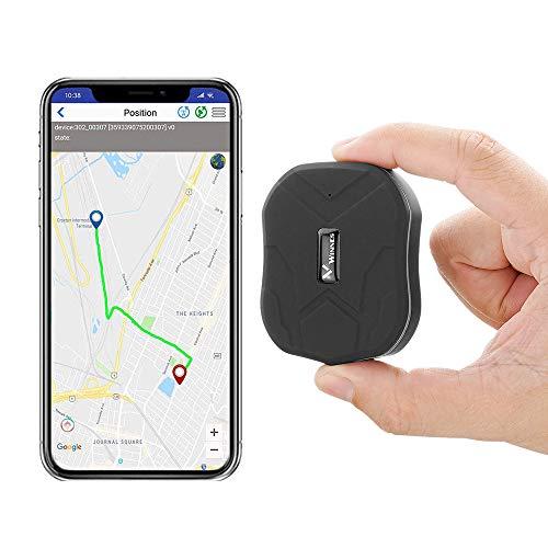 Localizador GPS,Rastreador GPS Magnético Mini TK905 1500mah Dispositivo Antirrobo Impermeable Ubicación GPS Antipérdida Seguimiento en...