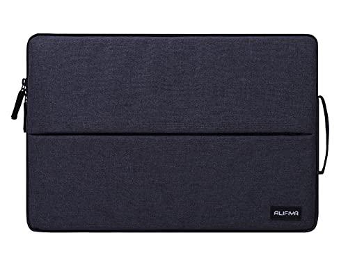 Alifiya Polyester Tablet Sleeve/Laptop Sleeve Bag/Case Cover Upto 11.6 Inch for iPad/Samsung Galaxy/Lenovo/Realme/Mi (Grey_L25)