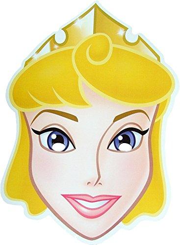 Disney Princesse Aurora - Masque de Visage Fait en Carte Rigide - Produit Disney Officiel