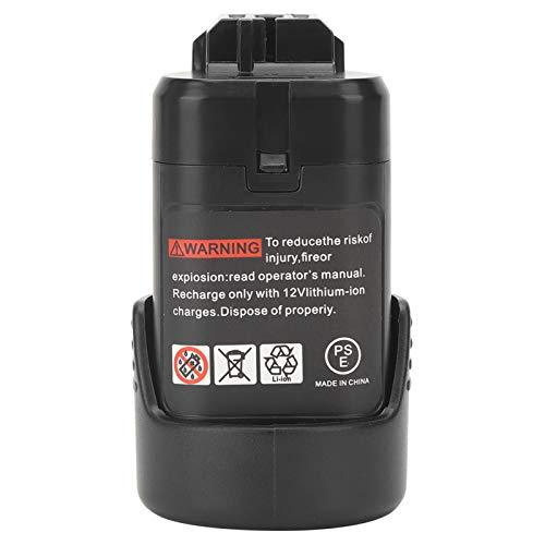 SEDOOM 10.8V Cordless Electric Drill Lithium Battery Replacement, For Bosch BAT411 BAT412, 2000mAh