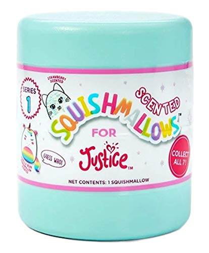 Justice Squishmallow Mystery Mini Plush Series 1