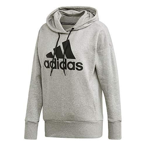 Adidas Originals Mujer W Bos Long HD, w bos Largo HD, Gris Jaspeado/Negro (Medium Grey Heather/Black), Mediano