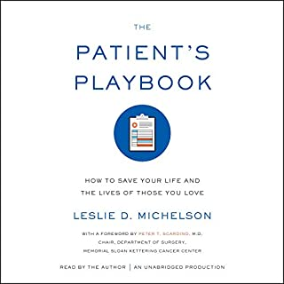 The Patient's Playbook audiobook cover art
