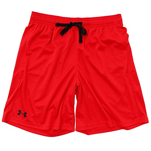 Under Armour UA Tech Mesh, short Homme - Rouge (Red/Steel 600) - XL