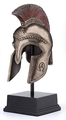 Veronese Design Spartan Hoplite Helmet Display