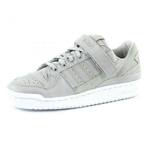 ADIDAS ORIGINALS Forum Low Sneakers Damen, Grau (Gridos / Gridos / Purtra 000), 40 2/3 EU