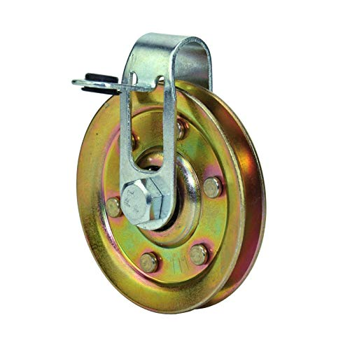Buy Bargain 3 Garage Door Pulley with Cable Restraint - Heavy Duty (50 Pulleys)