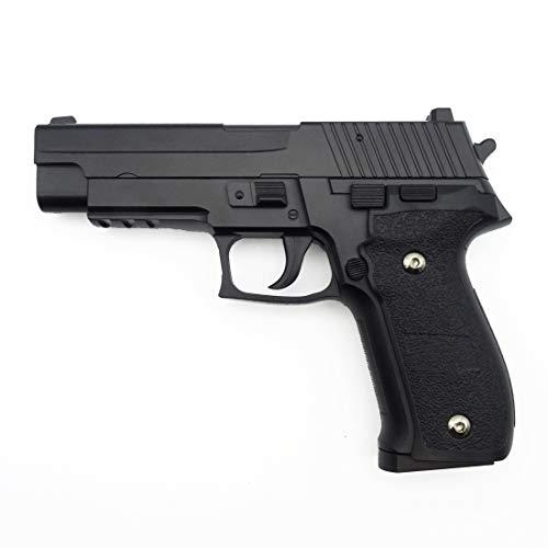 Rayline G26 Voll Metall Softair (Manuell Federdruck), Maßstab 1:1, Gewicht 570g, 6mm Kaliber, Farbe: Schwarz/Black