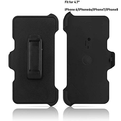"2 Pack Replacement Holster Belt Clip for Apple iPhone 6/6S/7/8 Otterbox Defender Case(Only 4.7"") (2PCS)"