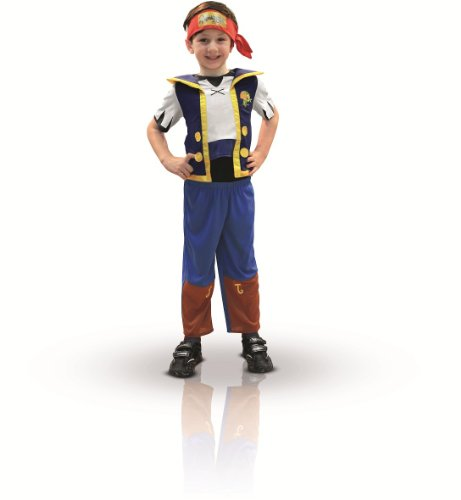 Rubie's-déguisement officiel - Jake Le Pirate - Déguisement Costume Jake Le Pirate -Taille TOD- I-881214TOD