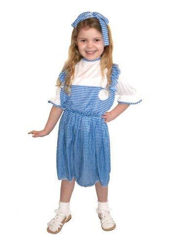 Children - Disfraz de Dorothy para niña, talla 6 (4-6 años ...