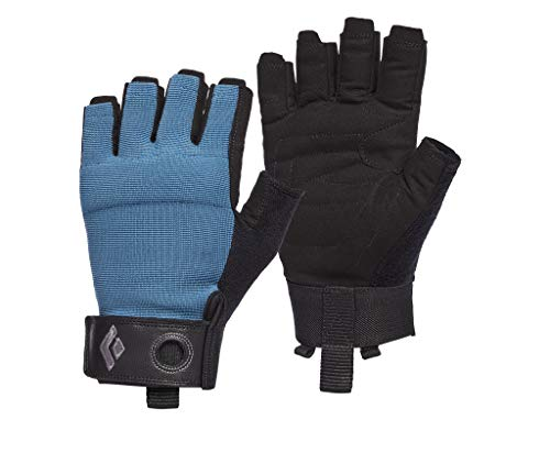 Black Diamond Equipment - Crag Half-Finger Gloves - Astral Blue - Medium