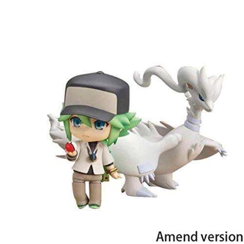 Lilongjiao Pokémon: N Rechram Nendoroid Figuras De Acción Juguetes Modelo