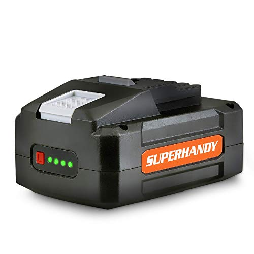 SuperHandy Lithium-Ion Rechargeable Battery 48V DC 2Ah 88.8 Watt Hours (Battery Only ULV Foggers, Power Wagon/Wheelbarrow, Winch and Earth/Ice Auger Power Head, All Not Included)