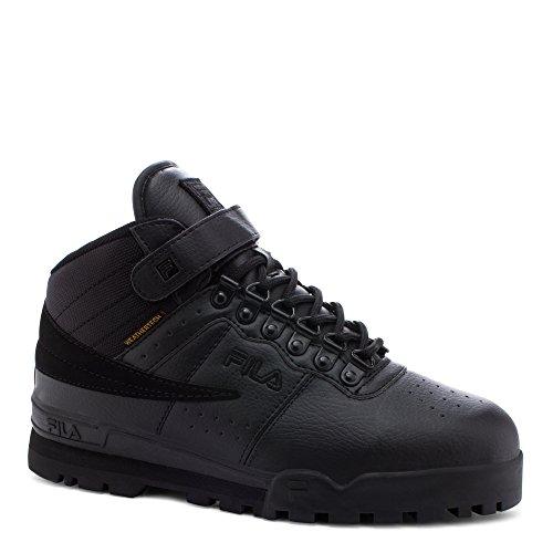 Fila Mens F-13 Weather Tech Black Low Top Sneakers Shoes 9
