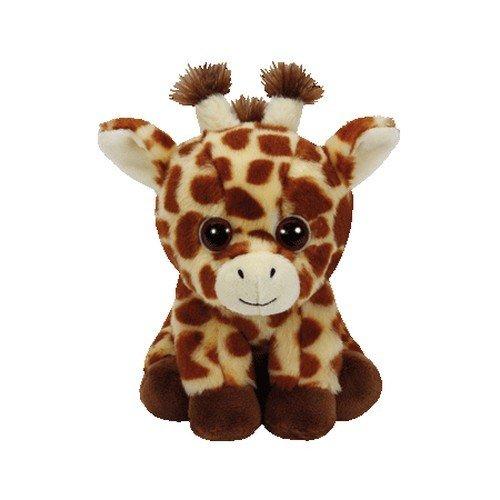 TY jirafa Peluche, juguete, color marrón, 15 cm (United