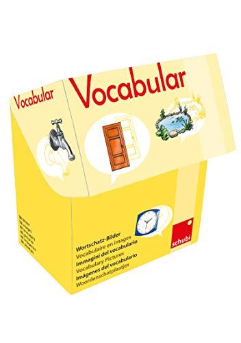 Vocabular: Wortschatzbilder Wohnen 1: Haus und Garten