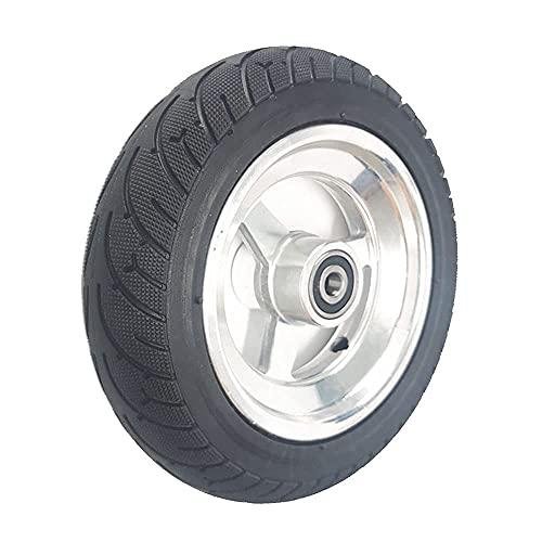 HAOJON Neumático de Scooter eléctrico, 8 Pulgadas 8x2.00-5 neumático sin cámara Antideslizante Resistente al Desgaste/neumático sólido Rueda Completa, Accesorios Opcionales de Rueda de Scooter, r