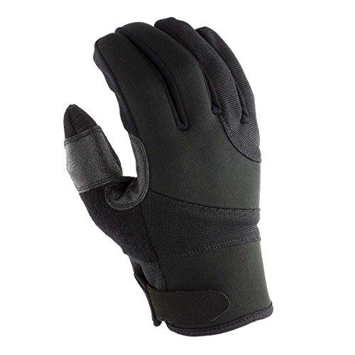 OBRAMO Einsatzhandschuhe Allround Schnittschutzhandschuhe Polizei Security Handschuhe schnittfest Sicherheitshandschuhe tactical Größe XXL