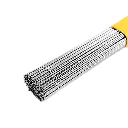 Varillas de soldadura TIG de acero inoxidable ER316 1m de longitud 1.6/2.4/3.2mm (50, 1.6mm)