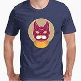 Camiseta - diseño Original - Gato Egipcio - M