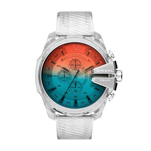 Diesel Reloj Cronógrafo para Hombre de Cuarzo con Correa en Poliuretano DZ4515