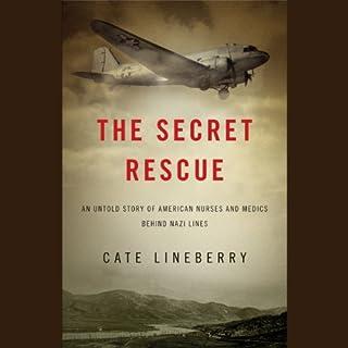 The Secret Rescue audiobook cover art