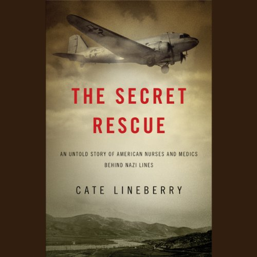 The Secret Rescue audiobook cover art
