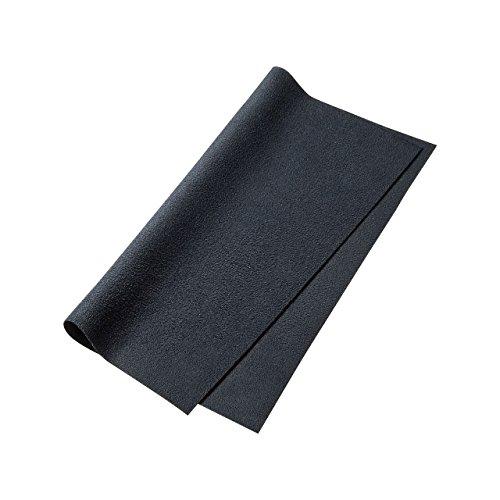 サンワサプライ クリーニングクロス Sサイズ (ブラック) CD-KCC2