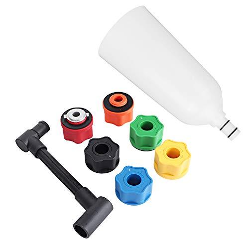 Durable Motor Petróleo Relleno Colocar, Petróleo Embudo Adaptador Servicio Vida Nylon Material Herramienta Equipo con Mejorado Nylon por Subaru
