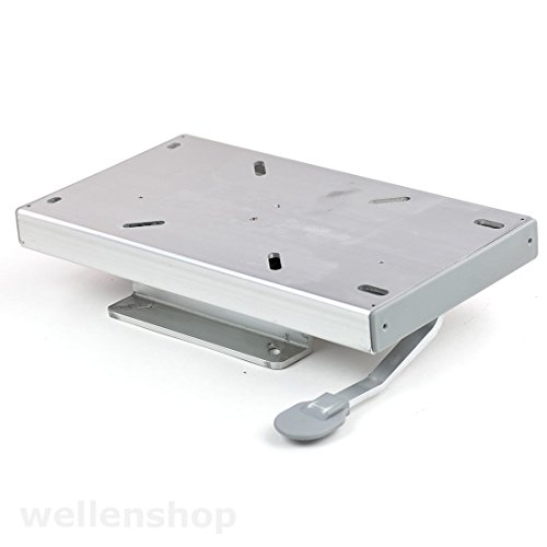wellenshop Sitzschiene Sitzkonsole verstellbar Aluminium Boot