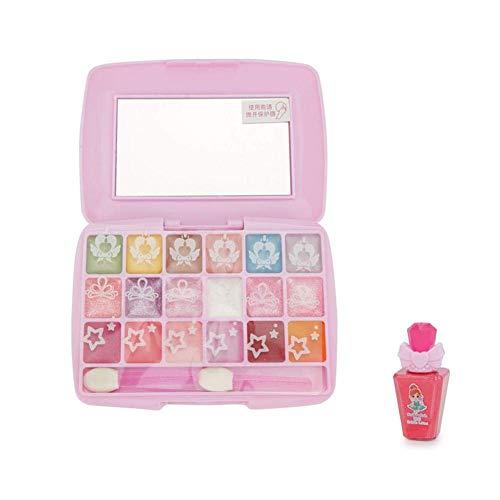 LIUCHANG Waschbares Make-up Spielzeug Set, Kinder Makeup Kit Safe Nichttoxisch, for kleine Mädchen Prinzessin Geburtstagsgeschenk liuchang20