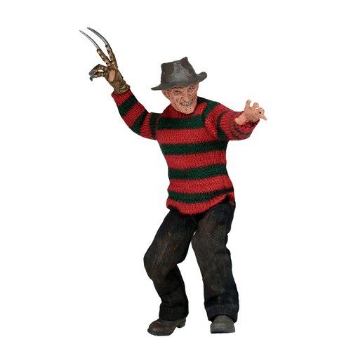 NECA Nightmare On Elm Street Dream Warriors Freddy, bekleidete Figur, 20,3 cm.