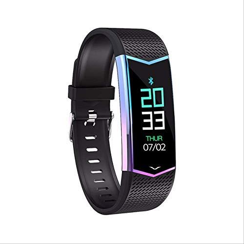 DAJUZI Smart Band Fitness Tracker Cardio Pulsera IP67 Impermeable Monitoreo de la frecuencia cardíaca Recordatorio de Llamada Podómetro Sport Fitness BraceletBlack