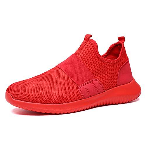 JIANKE Zapatillas de Deporte para Hombre Respirable Sneakers Ligero Zapatos para Correr