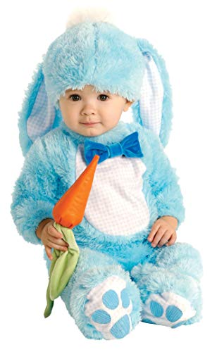 Rubie's Baby's Handsome Little Rabbit Costume, Blue, 0-6 Months